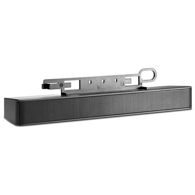 HP Black Speaker bar (compatible with all HP monitors except Pavilion,v185ws)(new, replaceace EE418AA)