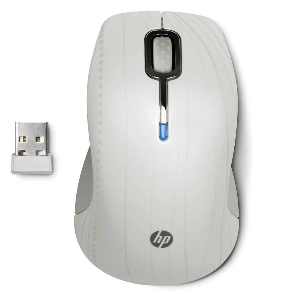 Mouse HP Wireless Comfort Mobile (Moonlight) cons