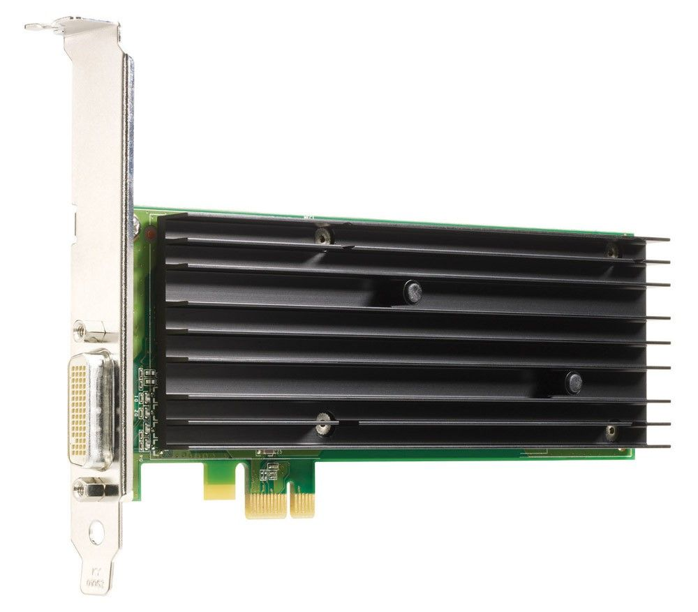 Видеокарта NVIDIA Quadro 290 NVS 256MB PCIe x1 dual head(DMS59 with VGA Y-Cable)(dc5700,dc7800CMT and SFF)