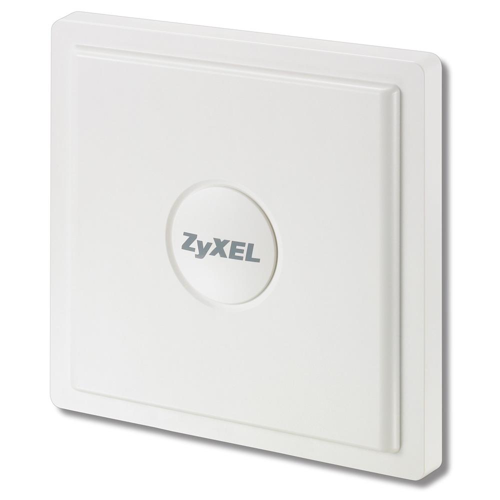 ZyXEL Всепогодная точка доступа Wi-Fi 802.11ag Outdoor с двумя радиоинтерфейсами, функциями моста, ретранслятора и контроллера беспроводной сети