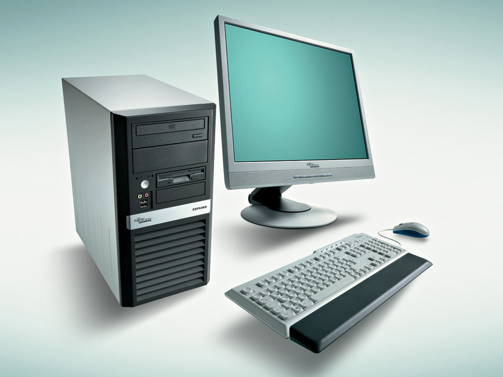 Персональный компьютер Fujitsu ESPRIMO P400   Core i3-3220 3.30GHz/3MB, 4GB DDR3-1333, HDD SATA III 500GB, DVDRW, KB410 PS2 BLACK, mouse, Win7-Load Pro64 up to Win8