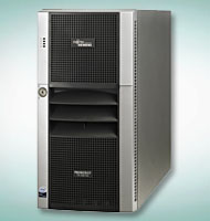 Сервер Fujitsu PRIMERGY TX200 S4 Server E5405 (Tower Xeon2.0GHzQC(2x6M), 2x1G, SATA RAID 0, 1, 10, no 3,5'HP HDD(4), DVDRWnoFDD, iRMC2, GigEth)