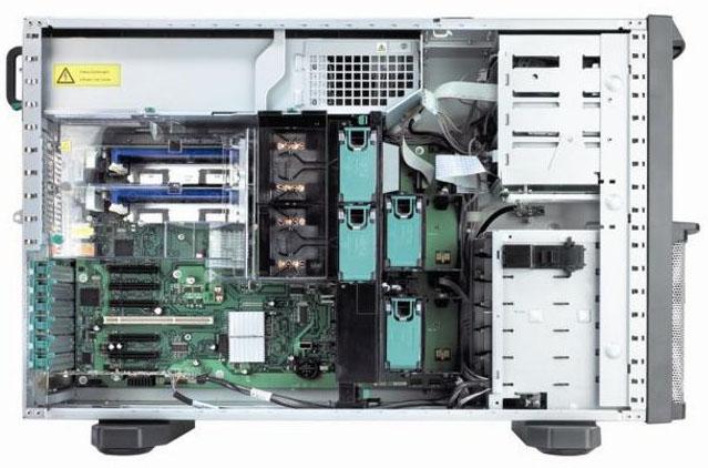 Сервер Fujitsu PRIMERGY TX300 S4 Server   E5405 (Tower XeonQC 2.0GHz(2x6M)/2x1Gb/SAS RAID 0/1/10/5/50/6/60 256M/no 3.5 hpHDD(6)/DVDRW noFDD/iRMC2/2xGigEth)