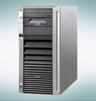 Сервер Fujitsu PRIMERGY Econel 200 S2 dual socket tower server, 2xXeon 5050 dual-core 3.0GHz 64-bit 2x2M SLC 667MHz FSB, 2x1G FBD667 PC2-5300F, 2x250G SATA 3.5  7.2K