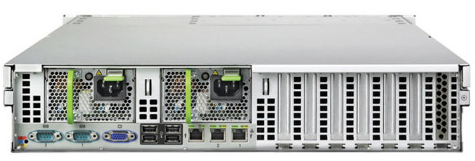 Сервер Fujitsu PRIMERGY RX300 S5 Server   Xeon E5504 - 2.00 GHz, 4GB DDR3-1333, 6x3.5 hotplug backplane, 1xhotplug power supply, 2xLAN