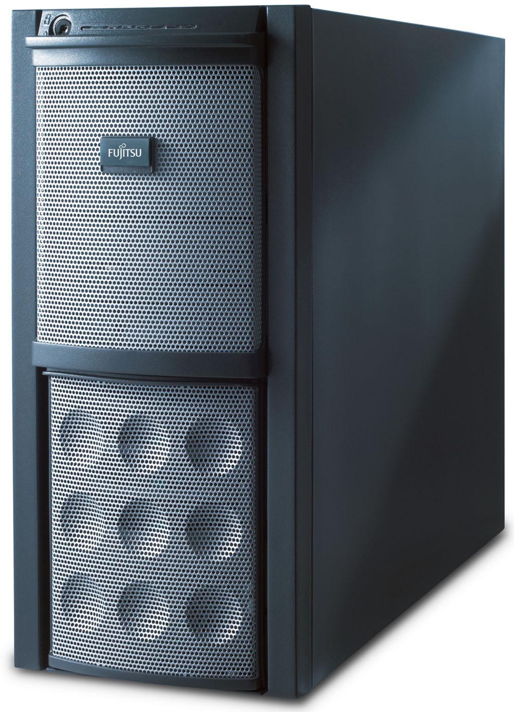 Сервер Fujitsu PRIMERGY TX150 S6 3065 (Tower X2.33GHzDC(4M), 1x1G, SATA RAID 0, 1, 10, no 3,5'HP HDD(4), DVDRWnoFDD, iRMC2, GigEth)
