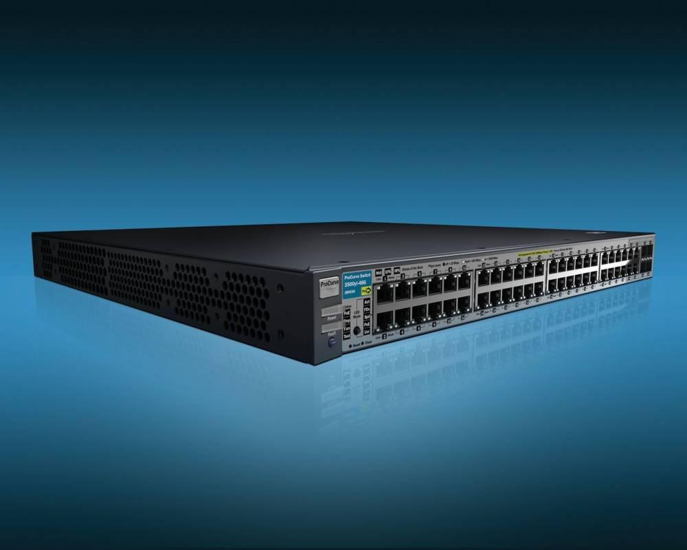 Коммутатор HP ProCurve Switch 3500yl-48G-PWR Intelligent Edge