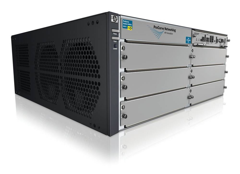 Шасси HP ProCurve Switch 5406zl   6-slot chassis (Managed, Layer 3/4 router, Stackable 19 , without power supply(up to 2))