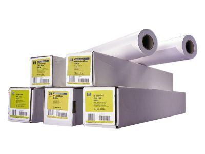 HP Высокоглянцевая фотобумага для плоттера, A1 24-inch (0.61) * 30м, 190 г/м2