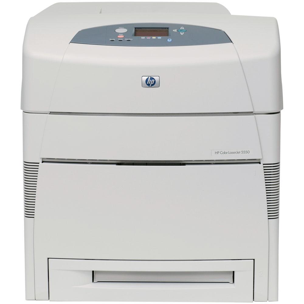 Цветной лазерный принтер HP Color LaserJet 5550 (A3, 28p/min A4, 14p/min A3, 120000 p/month)