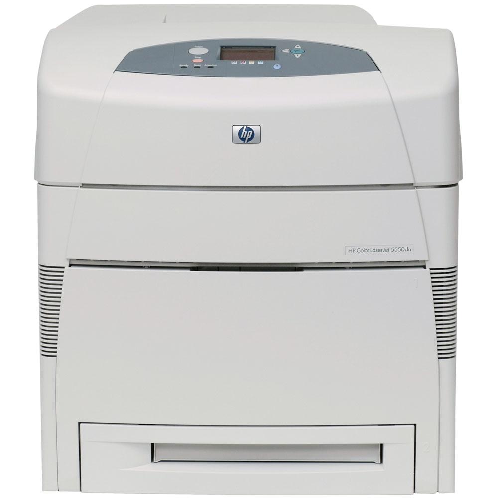 Цветной лазерный принтер HP Color LaserJet 5550dn (A3, 28p/min A4, 14p/min A3, 120000 p/month)