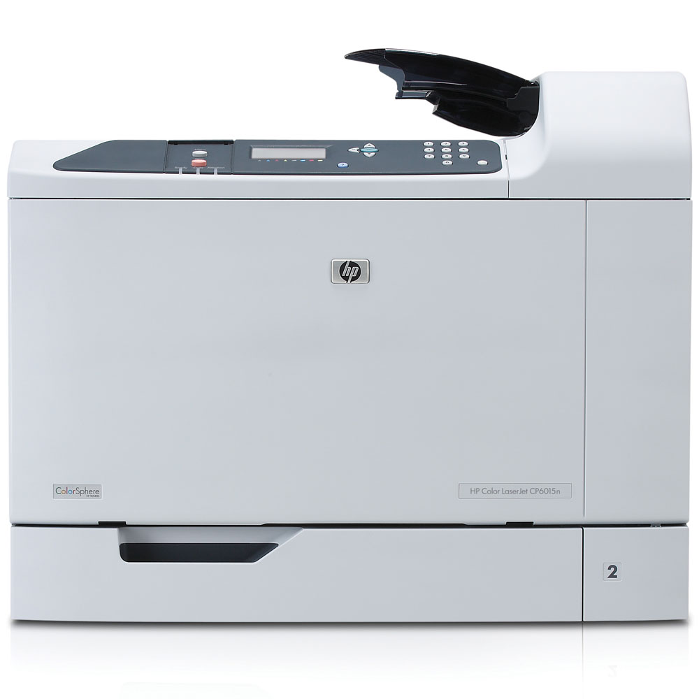 Цветной лазерный принтер HP Color LaserJet CP6015n   (A3, 600dpi, ImageREt 4800, 41(41) ppm, 512Mb, 2trays 500+100, USB/GigEth/2xEIO, 4cartriges)