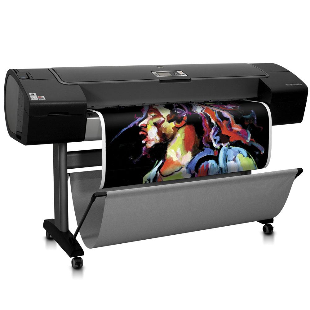 Широкоформатный принтер (плоттер) HP Designjet Z3200 (44-inch, 12 colors, 2400x1200dpi, 256Mb, 80Gb HDD, 7, 2mpp(A1, normal), USB/LAN/EIO, stand, sheetfeed, rollfeed, autocutter, repl. Q6659A)