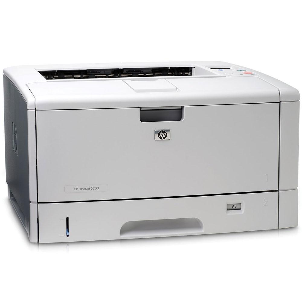 Черно-белый лазерный принтер HP LaserJet 5200 (A3+, 1200dpi, 35ppm, 48Mb, 2trays 250+100, USB/Parallel/EIO)
