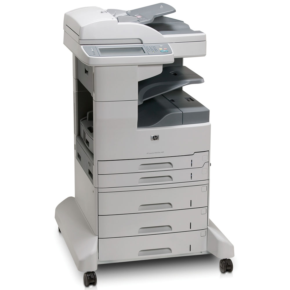Черно-белое лазерное МФУ HP LaserJet Enterprise 700 MFP M725dn (p/c/s, A3, 1200dpi, 40ppm, 1024Mb, 320Gb HDD, 3 trays 100+250+250, ADF100, Duplex, USB/LAN/FIH, Color LCD20i, replace Q7840A, Q7829A)