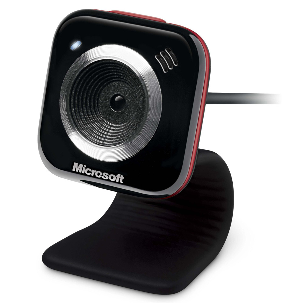 Microsoft MP LifeCam VX-5000, USB, Red