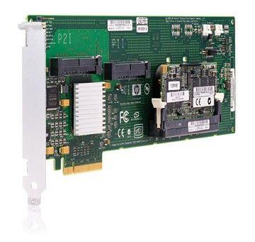 Контроллер HP Smart Array E200/64MB RAID 0/1/1+0 (8 link: 2 int x4 wide port connectors SAS) PCI-E