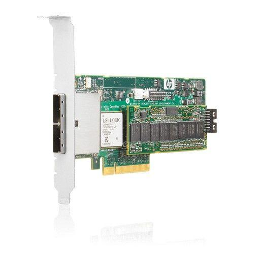 Контроллер HP Smart Array E500/256MB RAID 0/1+0 (8 link: 2 ext x4 wide port Mini-SAS connectors SAS) PCI-E