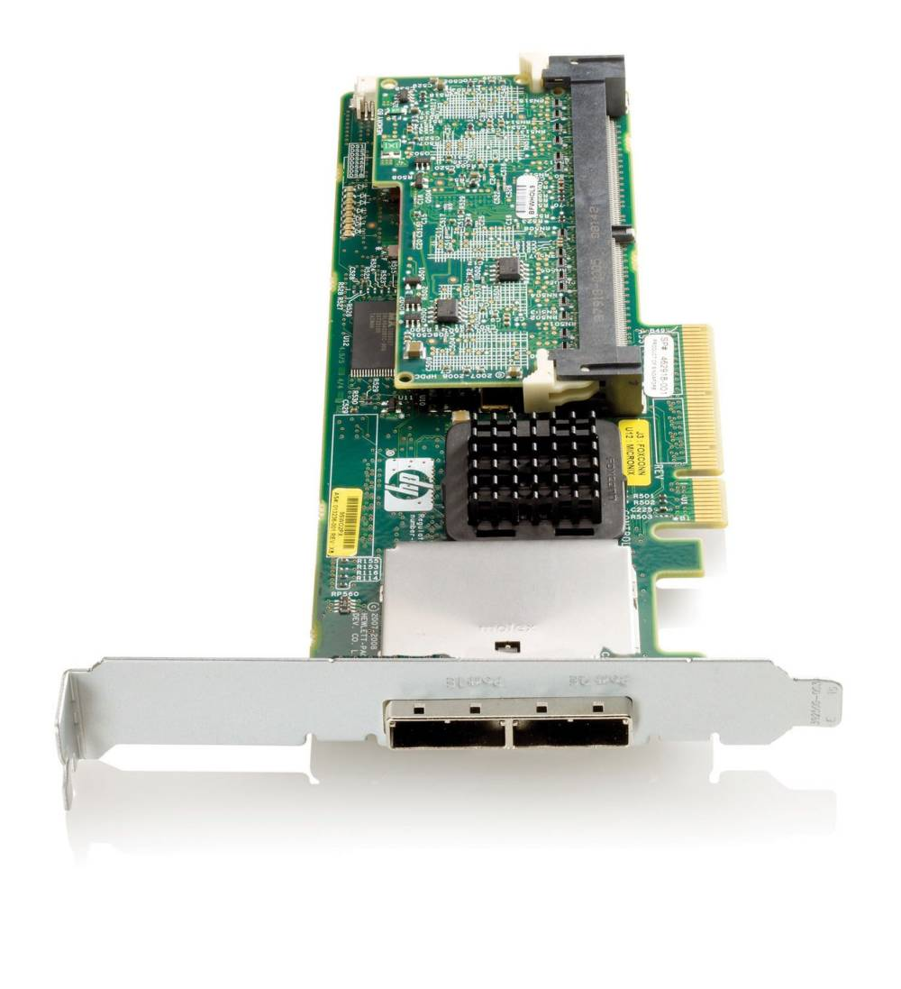 Контроллер HP Smart Array P411/256 MB Controller RAID 0,1,1+0 (8 link: 2 ext (SFF8088) ports SAS) PCI-E x8, incl. h/h and f/h. Brckts