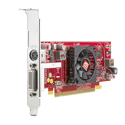 Видеокарта HP ATI Radeon HD 4550 DH 512MB PCIe x16 Dual Head(DMS59 with Y-Cable), S-video(6000Pro, dc7900SFF and CMT, 8000Elite CMT and SFF)