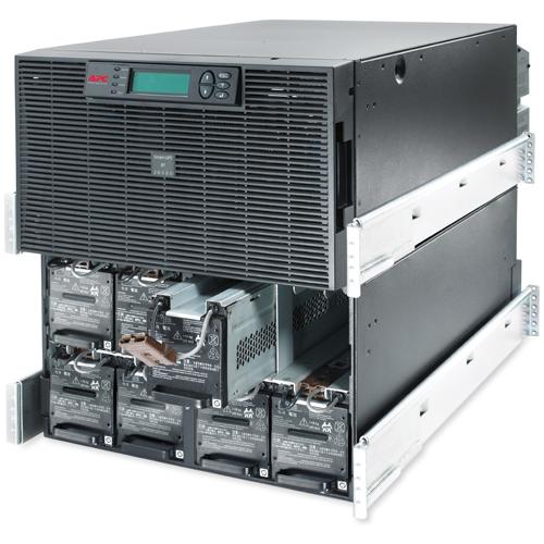 Источник бесперебойного питания APC Smart-UPS RT RM 12U 20000VA   230V, On-Line, 1:1 or 3:1, Rack 12U, Extended-run, Pre-Installed Web/SNMP Card, with PC Business, Black