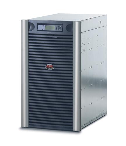 Источник бесперебойного питания APC Symmetra LX RM 19U 12000VA Scalable to 16000VA (8400Watt/11200Watt, RS232, 3xSYBT5, 1xSS AP9619, 1:1/3:1, 8xC13, Black)