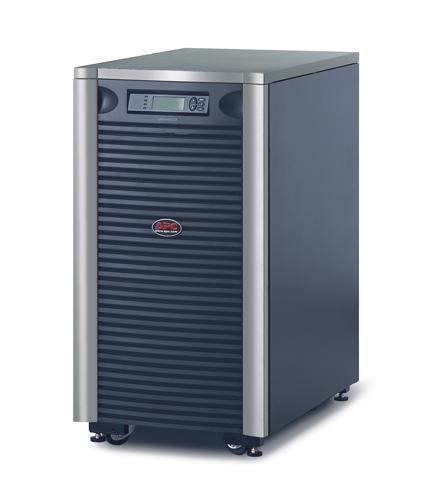 Источник бесперебойного питания APC Symmetra LX 8000VA Scalable to 16000VA (5600Watt/11200Watt, RS232, 2xSYBT5, 1xSS AP9619, 1:1/3:1, Black)
