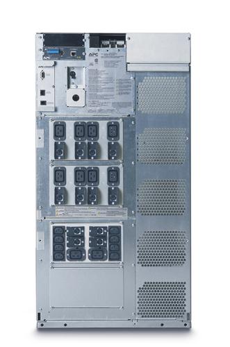 Источник бесперебойного питания APC Symmetra LX RM 19U 8000VA Scalable to 16000VA (5600Watt/11200Watt, RS232, 2xSYBT5, 1xSS AP9619, 1:1/3:1, 8xC13, Black)