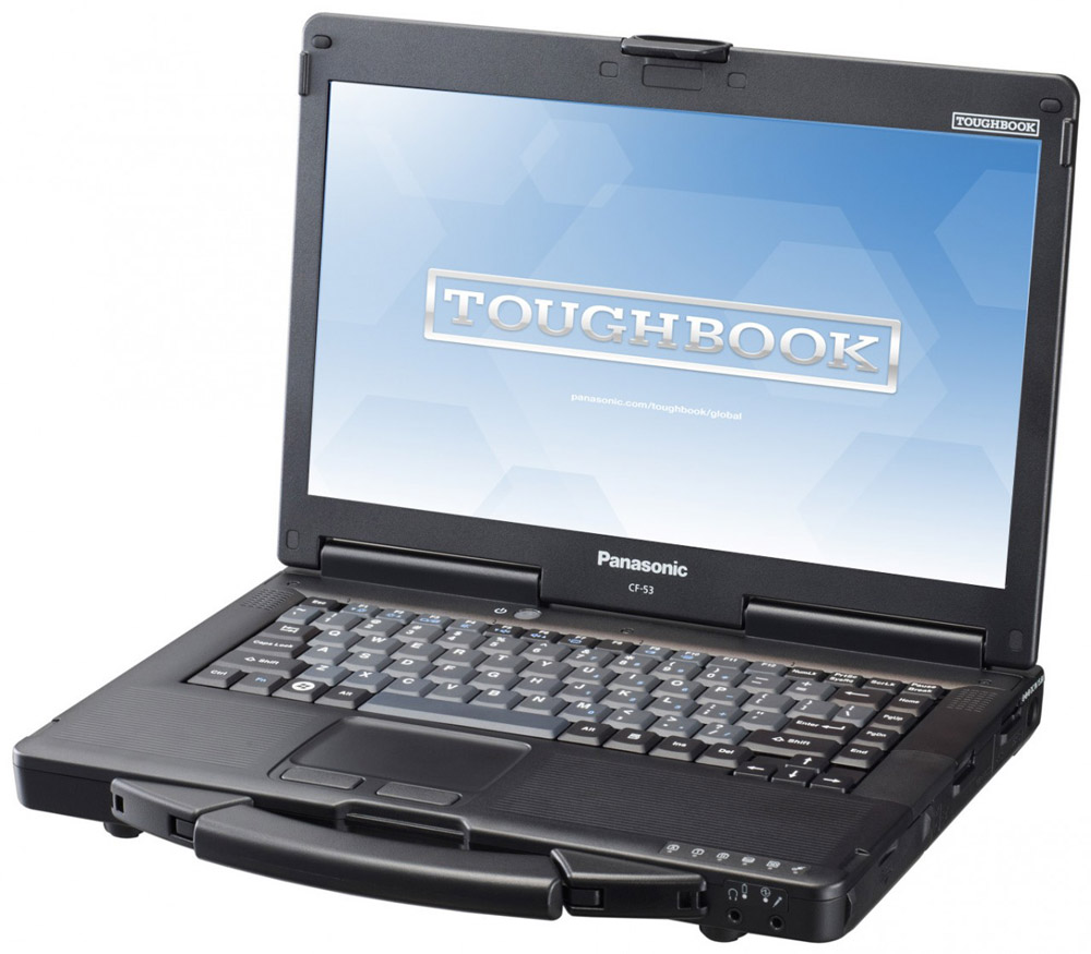 "Ноутбук Panasonic Toughbook CF-53 mk3 Std. Core i 5-3340M vPro (2.7GHz, QM77), 14.0"" (1366*768), 4GB, 500GB, DVD Multi, WLAN 11a, b, g, n, Win8 Pro, Win7 Pro DG, TPM"