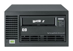 Стример HP StorageWorks Ultrium 460 (400Gb, 60Mb/s) Tape Drive External