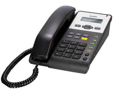 ZyXEL IP-телефон на 2 линии SIP с 2 портами Ethernet и PoE