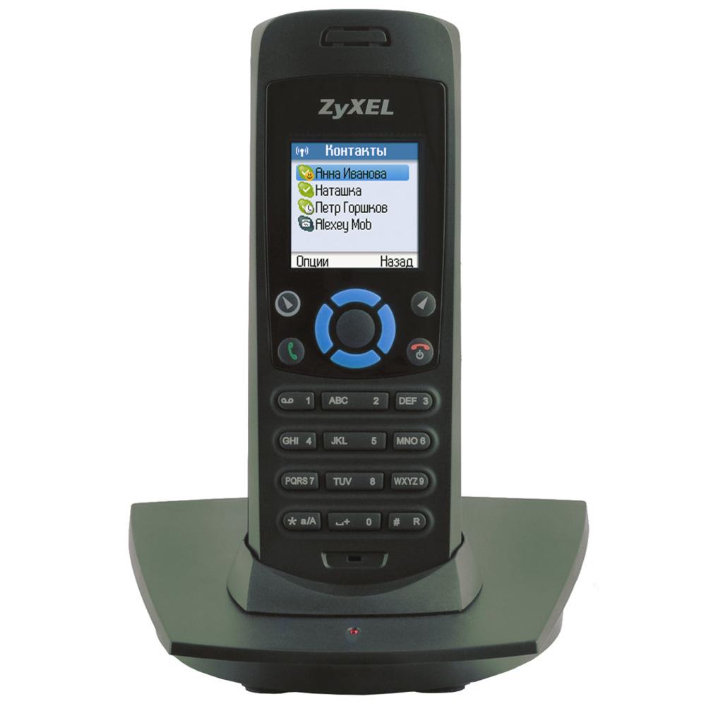ZyXEL DECT-телефон для Skype с подключением к Интернету без компьютера