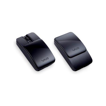 Bluetooth мышь со съемными крышками (черный)