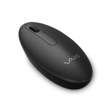 Bluetooth мышь обтекаемая, цвет черный