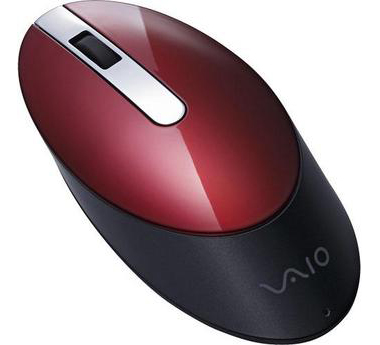 Sony Bluetooth Laser Mouse Red VGP-BMS55/R