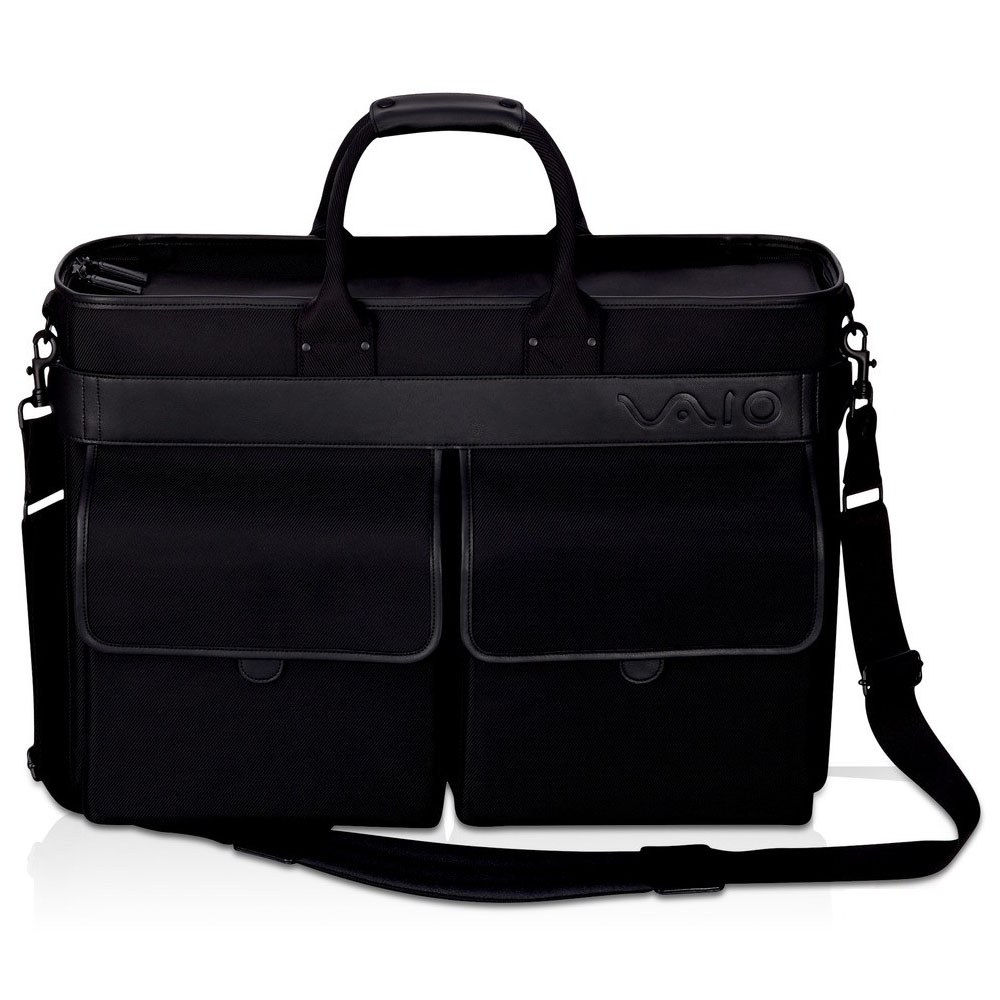 Sony VAIO Bag for -up to 18,4  series (black; Nylon+leather)