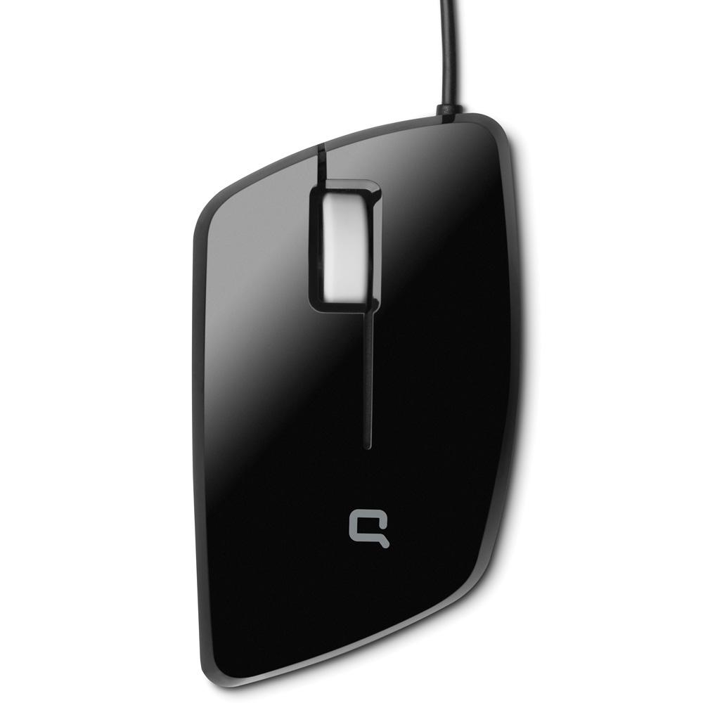 Mouse HP Compaq USB 3 Mobile Optical (WinXP, Vista) black cons
