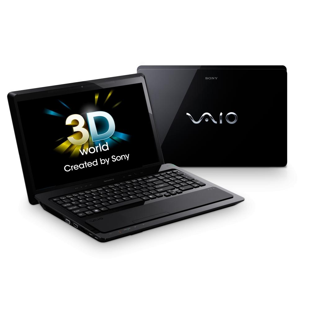 Ноутбук Sony VAIO F21Z1R/BI Core i7-2630QM (2.0), 16-inch FHD 3D, 8GB(2), 640GB, Bluray, NV GT540M 1Gb, WiFi, BT, camera, HDMI&VGA, W7HP 64, Prem Black (VPC-F21Z1R/BI+3D glasses+BD+headphone)