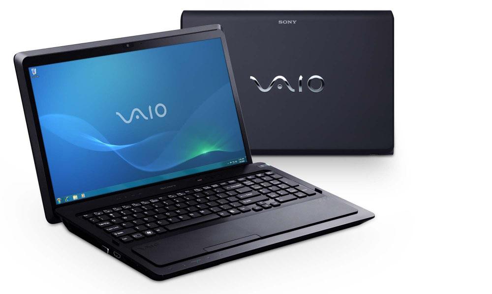 Ноутбук Sony VAIO F22E1R/B Core i5-2410M (2.3), 16.4-inch HD+(1600*900), 4GB(1), 500GB, DVDRW, NV GT540M 1Gb, WiFi, BT, camera, HDMI (support 3D output)&VGA, W7HP 64, Black