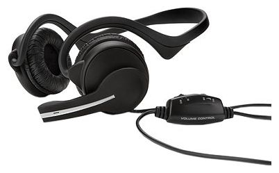 HP Digital Stereo Headset (Jade), wired, behind the neck, double, Noise Canceling Mic, USB, Volume Control