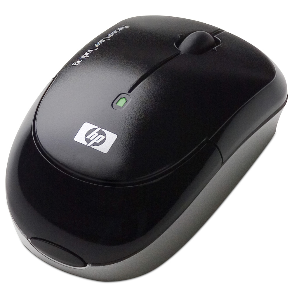 Mouse HP Wireless Laser Mini Mouse (Popo refresh) black cons