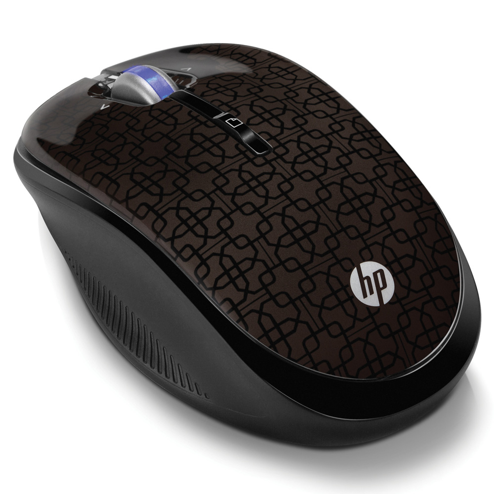 Mouse HP Wireless Optical Mobile Mouse Black Cherry cons