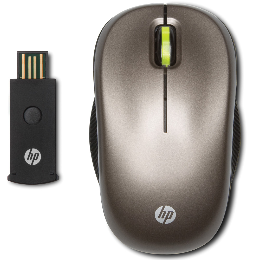 Mouse HP Wireless Optical Mobile Mouse (Biscotti) brown, black cons