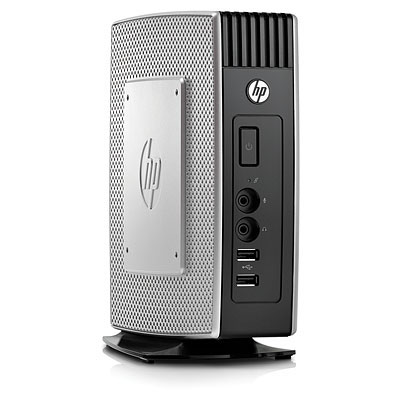 Тонкий клиент HP t5550 1GHz 512MB flash/1GB DDR3 RAM Win CE6 keyb/mouse VESA