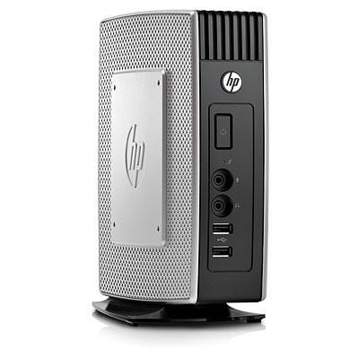 Тонкий клиент HP t5550 1GHz 512MB flash/1GB DDR3 RAM Win CE6 keyb/mouse VESA