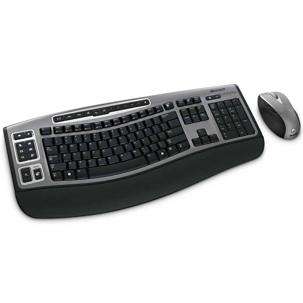 Microsoft Wireless Laser Desktop 6000, v3, USB