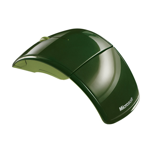Microsoft Wireless Mouse ARC, Mac, Win, Green