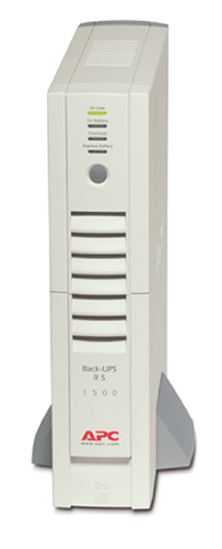 Источник бесперебойного питания APC Back-UPS RS, 1500VA/865W, 230V, Extended Runtime, AVR, USB Interface, Cold-start, Data line surge protection, Hot Swap Batteries, PowerChute