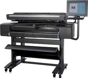 Широкоформатное струйное МФУ HP Designjet 820 MFP (Printer 42-inch, 2400x1200dpi, Print Speed (Colour, Designjet, Photo Quality) 2 m?/hr, PS; Scanner 42-inch, 2400x2400dpi, 24bit; Copier