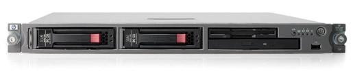 Сервер HP ProLiant DL320 G4 Server Rack 1U Pentium4 DualCore 3.0GHz/2x1Mb,   1x1Gb, SATA Drive Cage (max 2 HDD), SATA RAID (0/1), noCD, noFDD, iLO2, Dual Gigabit Ethernet